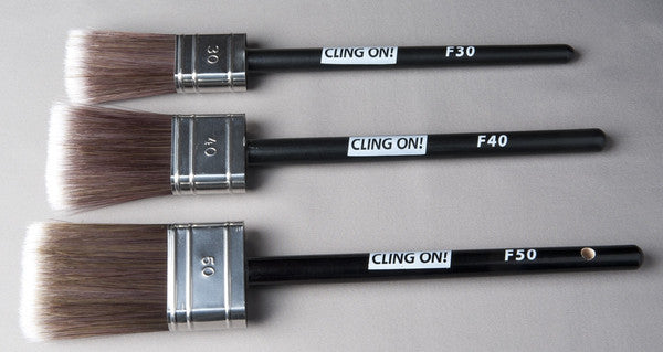 Cling On Brushes - Flat