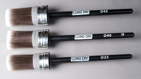 Cling On Brushes - Oval