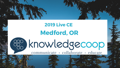 Medford, OR - 2019 8 Hour Live CE