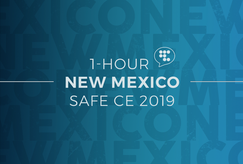 New Mexico 1 Hour Online CE