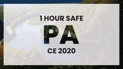Pennsylvania 1 Hour Online CE
