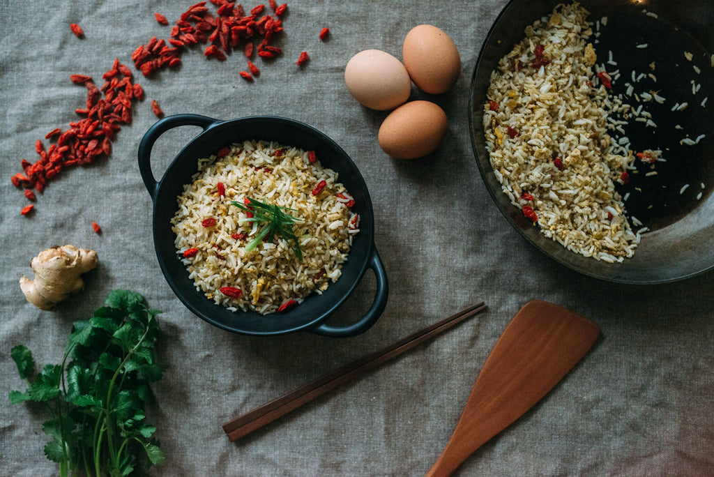 Goji Berry and Ginger Fried Rice