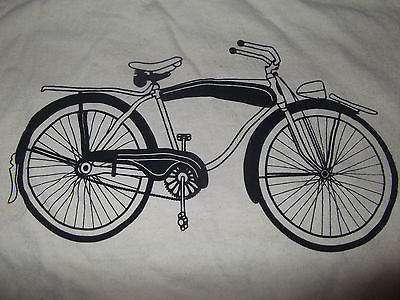 Men's Gray Vintage Shelby Bicycle T Shirt
