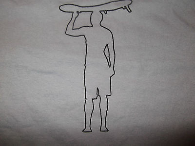 Men's Gray Surfer T Shirt.  Surfing collection.