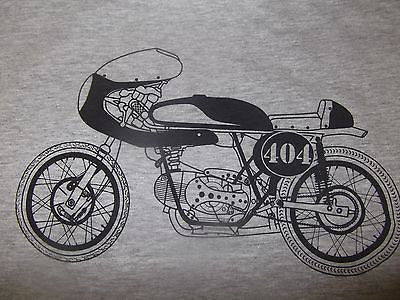 Men's Long Sleeve Vintage CAFE RACER Motorcycle T shirt