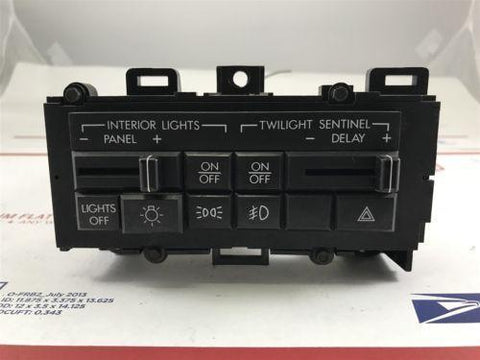1990 Cadillac Allante Headlight Dimmer Switch Panel Cluster OEM 16120466