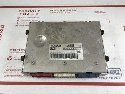 1997 Isuzu Rodeo 3.2S Engine Computer Control Unit ECM ECU OEM 8162432690