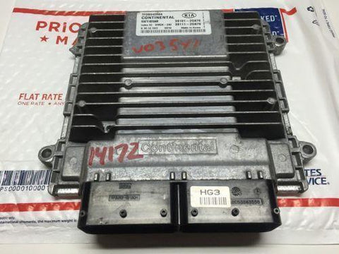 2011 KIA OPTIMA 2.4L EX AT COMPUTER ENGINE CONTROL ECU ECM MODULE 39101-2G876