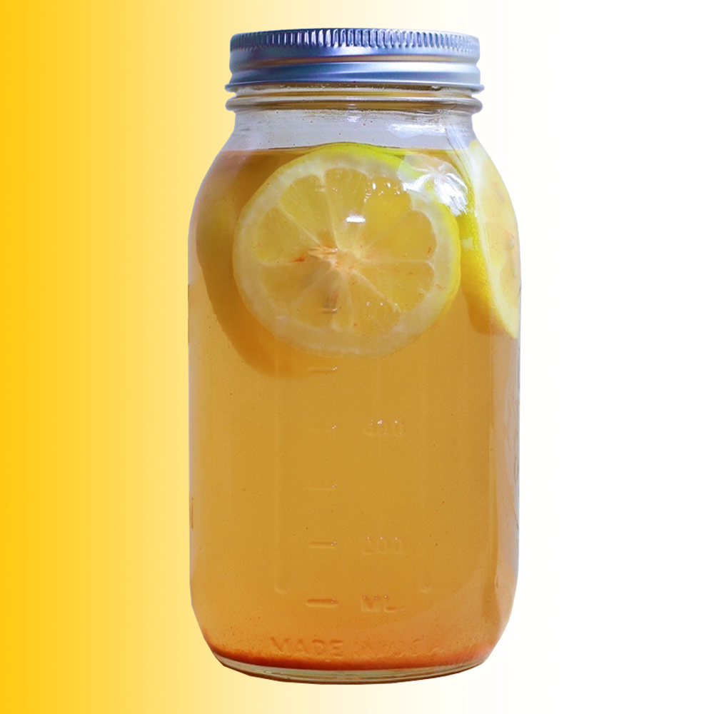 Homemade Honey Lemon Tea