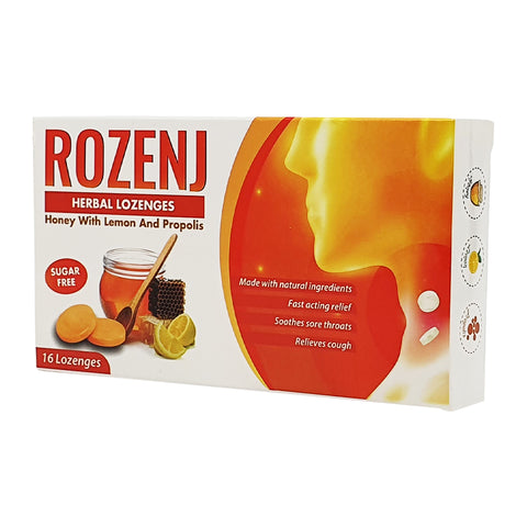 Rozenj Honey With Lemon & Propolis