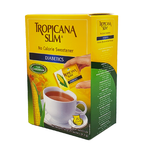 Tropicana Slim: No Calorie Sweetener