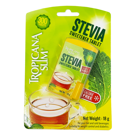 Tropicana Slim: Stevia Sweetener Tablet