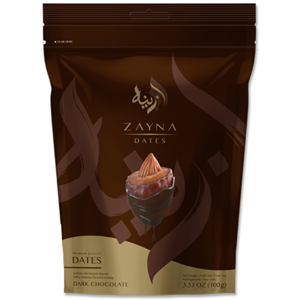 Zayna Almond Chocolate Dates