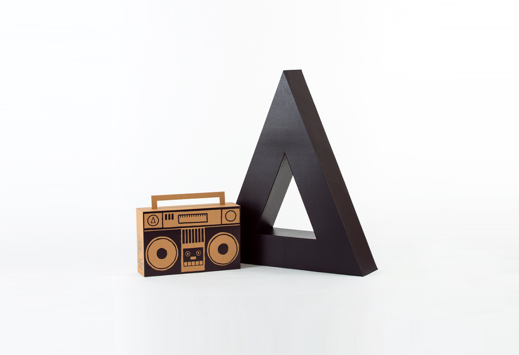 big ass triangle & boombox