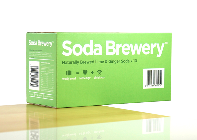 Soda Brewery. x4 Pack