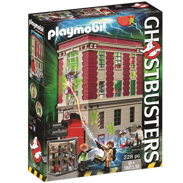Ghostbusters Headquarters 9219