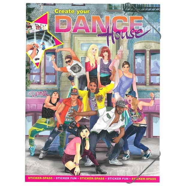 Create your dance house - sticker book