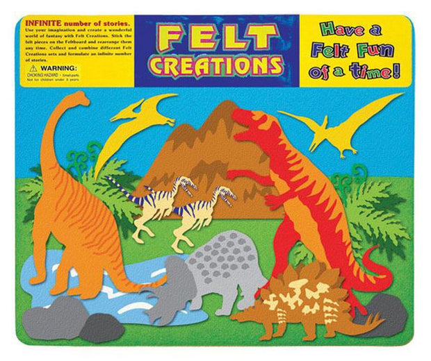 Felt Creations set -Dinosaur