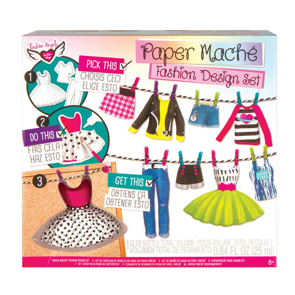Paper Mache Fashion Design Set
