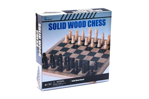 Solid Wood Chess - Board Game Set