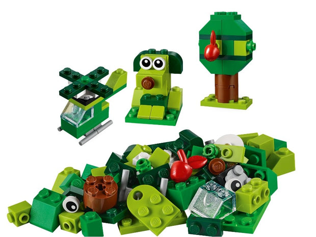 Creator classic bricks green 11007