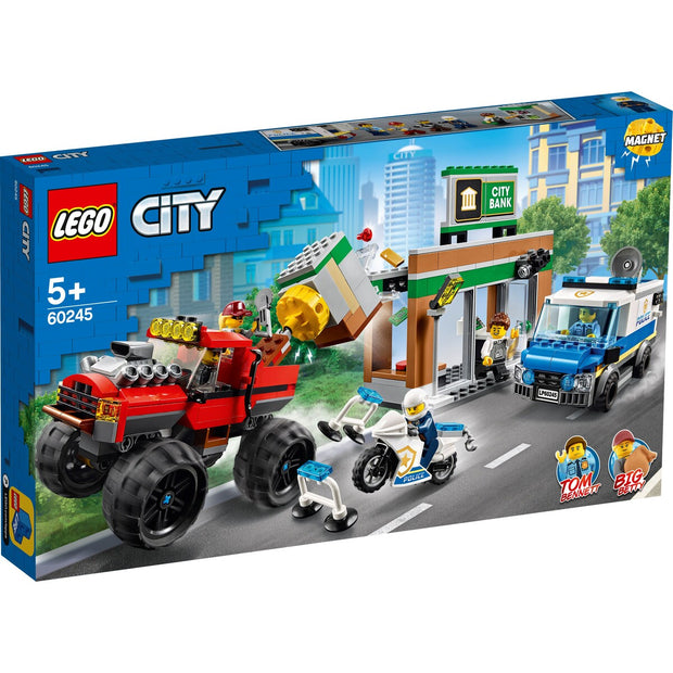 City Police Monster truck heist 60245
