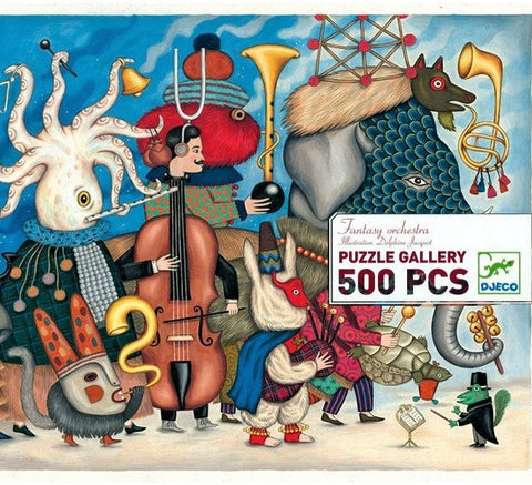 500 pce Fantasy Orchestra gallery puzzle