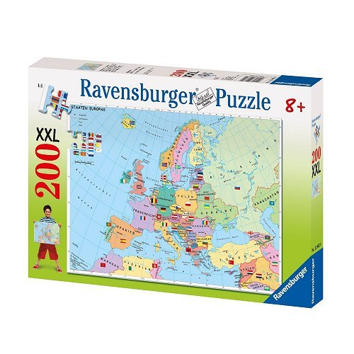 Rburg Map Of Europe 200pc