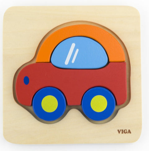 Shape Block puzzle - Car