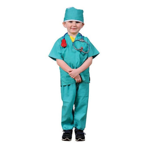 Surgeon Green Scrubs and accessories set