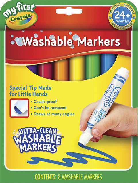 Ultra Clean Washable Markers Stage 3 Draw