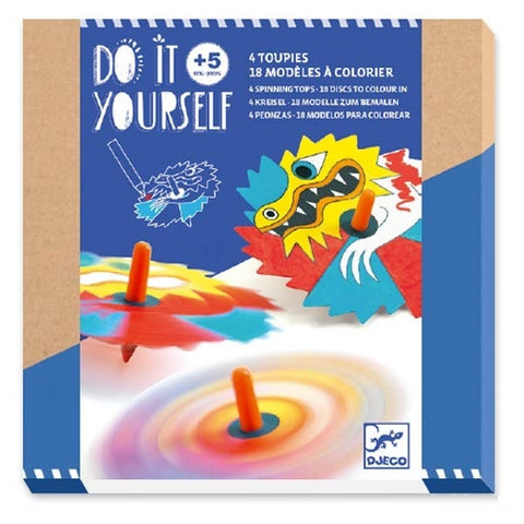 Do It Yourself - Spinning Tops Blue