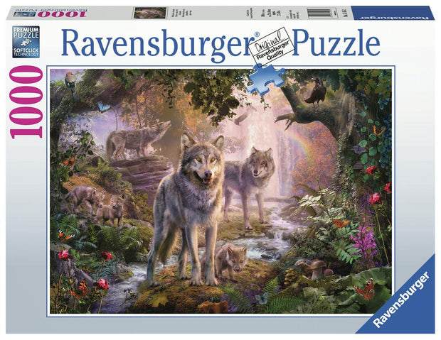 1000 pce Summer Wolves puzzle