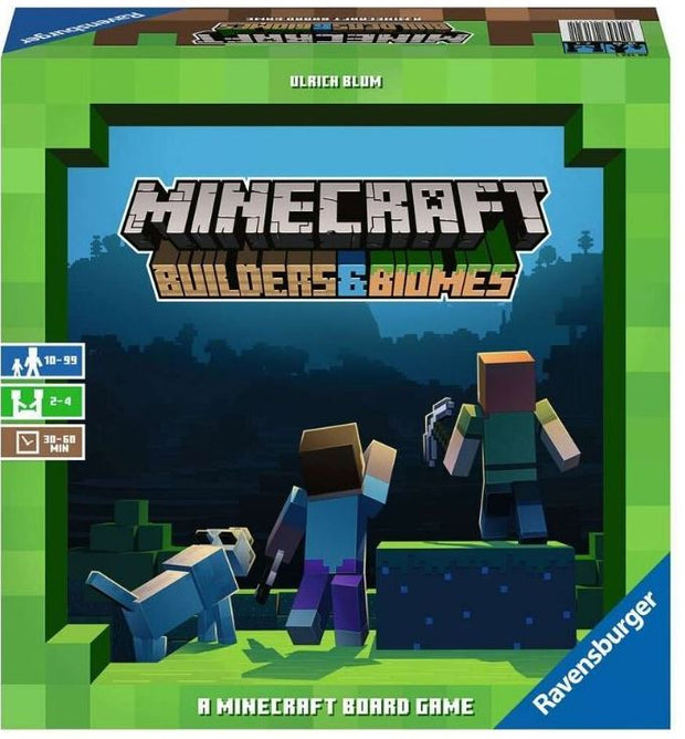 Minecraft Game - Builders and Biomes
