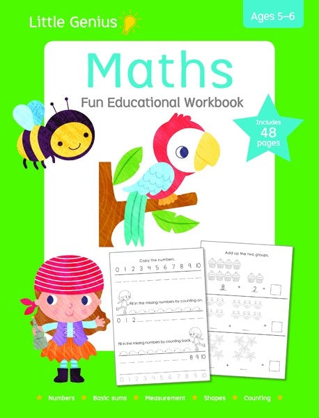 Little Genius - Maths Workbook