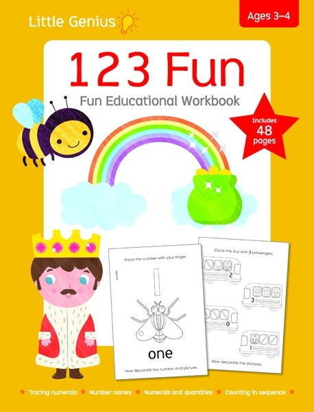 Little Genius - 123 Fun Workbook
