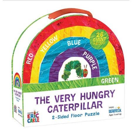 The Very Hungry Caterpillar Super 2 Sided Floor Puzzle
