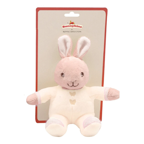 Bunnykins Peter Rabbit Plush Rattle Cream