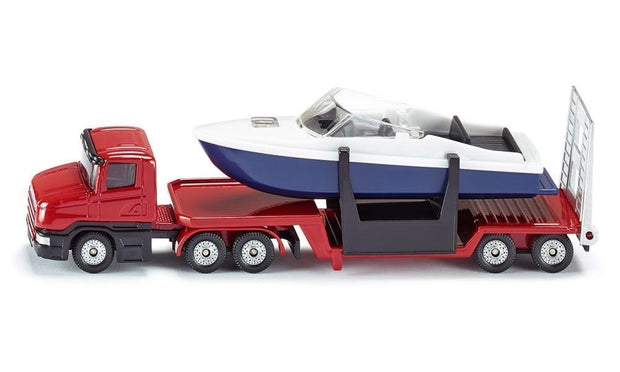 Low Loader with boat 1613