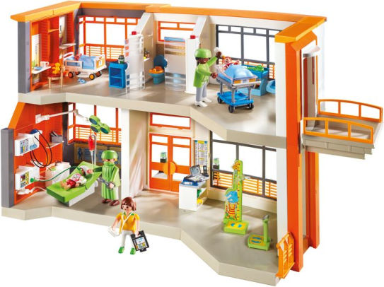 Playmobil Childrens Clinic Hospital
