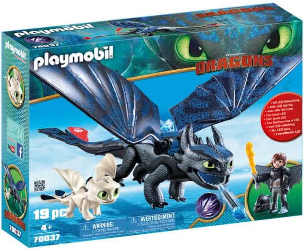 Hiccup and Toothless 70037