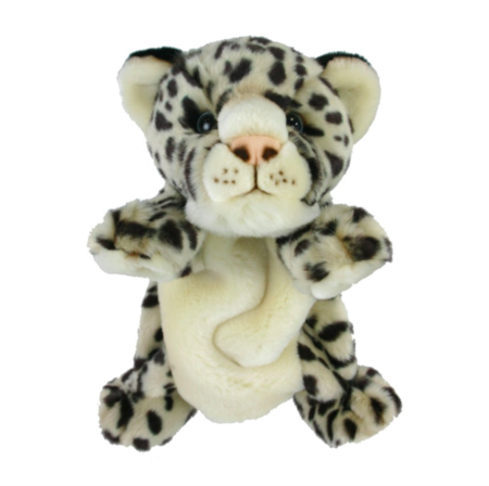 Snow Leopard Body Puppet