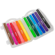 First Creations easy grip Triangular Markers 12 pack