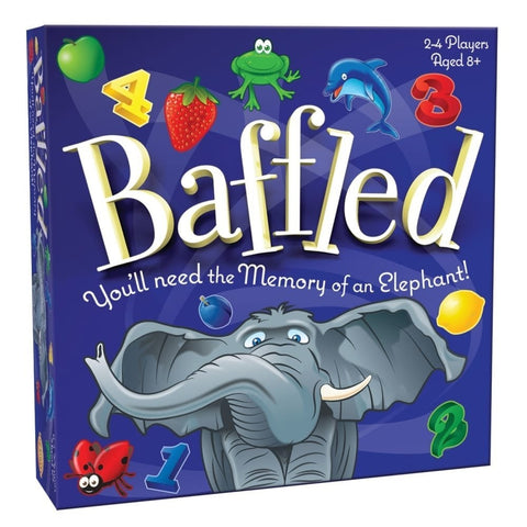 Baffled memory game