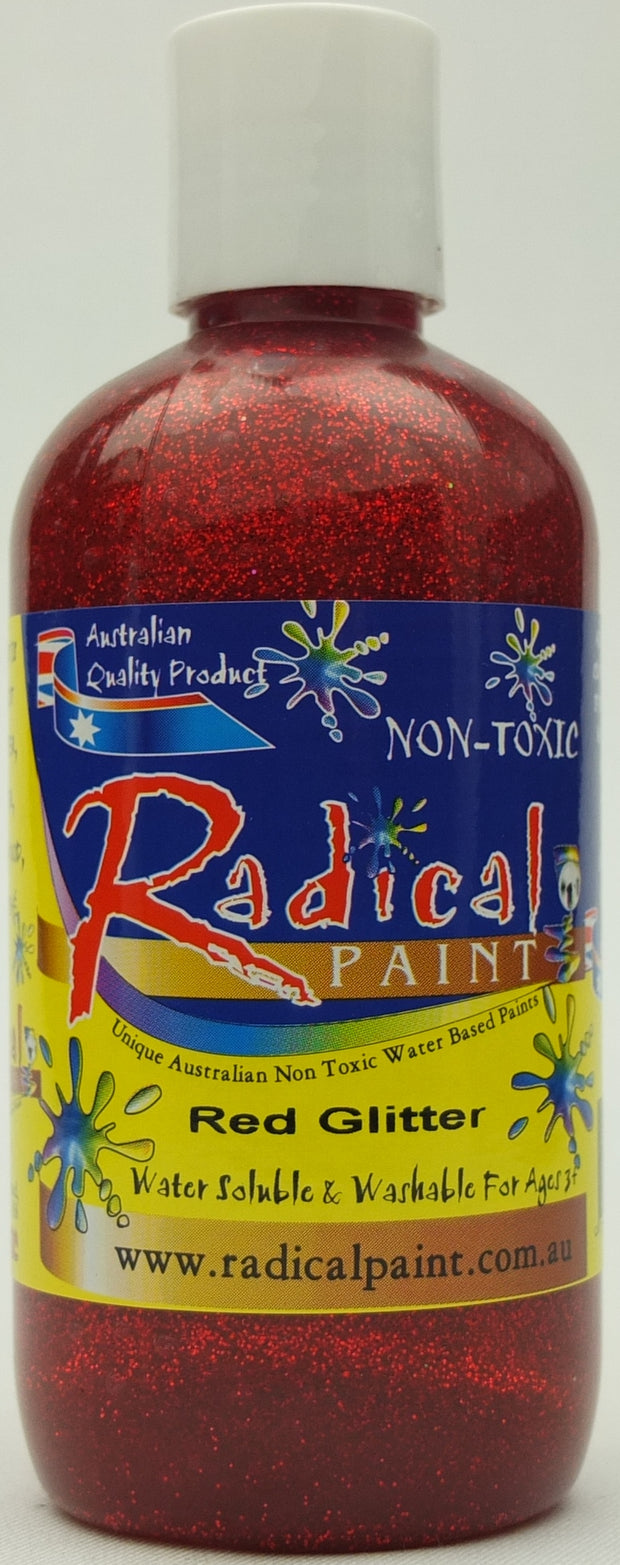 Paint Glitter - Red
