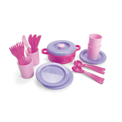 Pink Table Setting Set