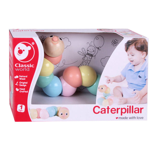Caterpillar pastels