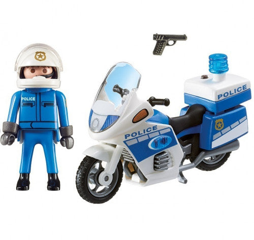 Police Bike with LED light 6923