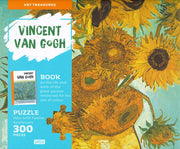 300 Piece Vincent Van Gough Puzzle and Book