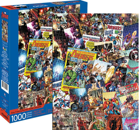 1000pce jigsaw- Avengers Collage